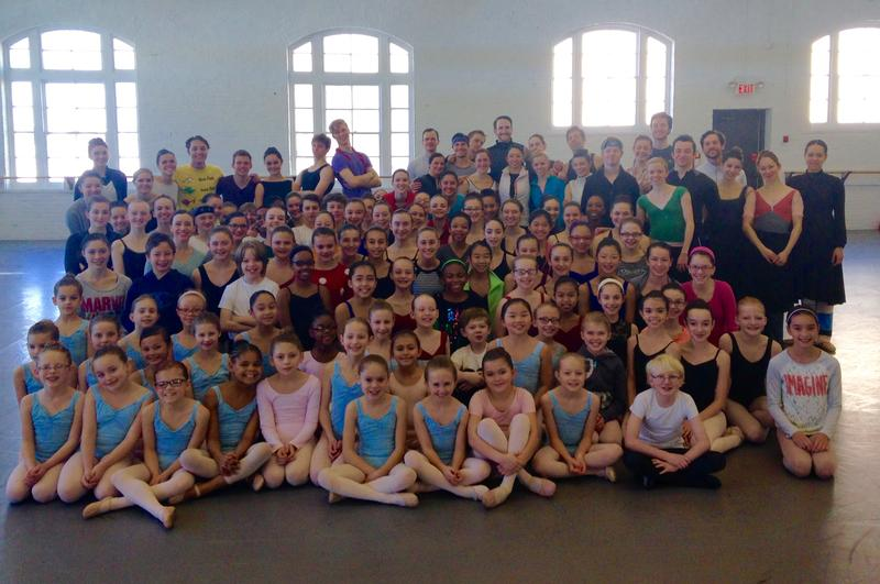The cast of BalletMet's Cinderella