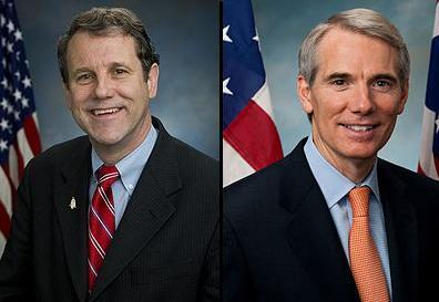 Sherrod Brown and Rob Portman