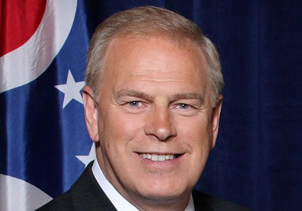 Democratic Senate candidate and former Ohio Governor Ted Strickland picks up an endorsement from former President Bill Clinton.