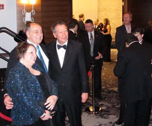 Governor John Kasich at Inaugural gala