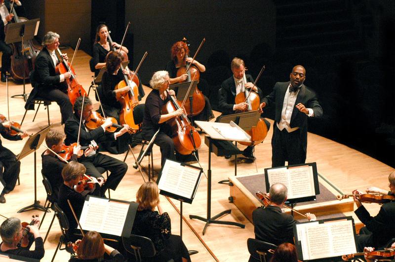 William Eddins is conducting the Edmonton Symphony Orchestra