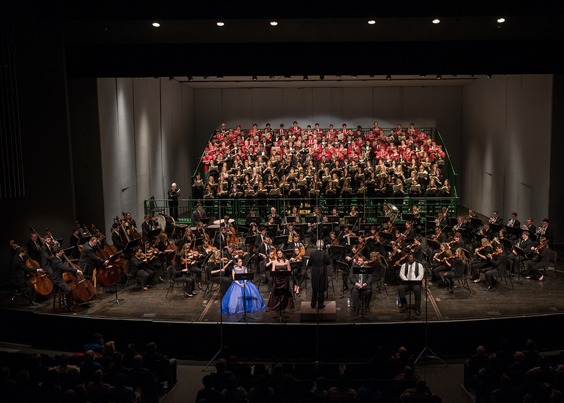 The Ohio State University's School of Music performance of Verdi's Requiem on March 8, 2015 in Mershon Auditorium