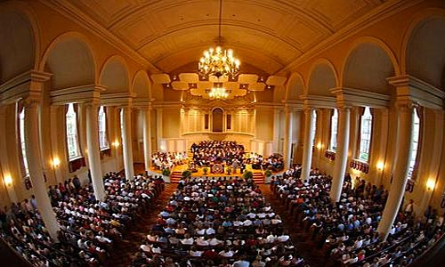 TUTTI Festival performance in Swasey Chapel on the campus of Denison University.