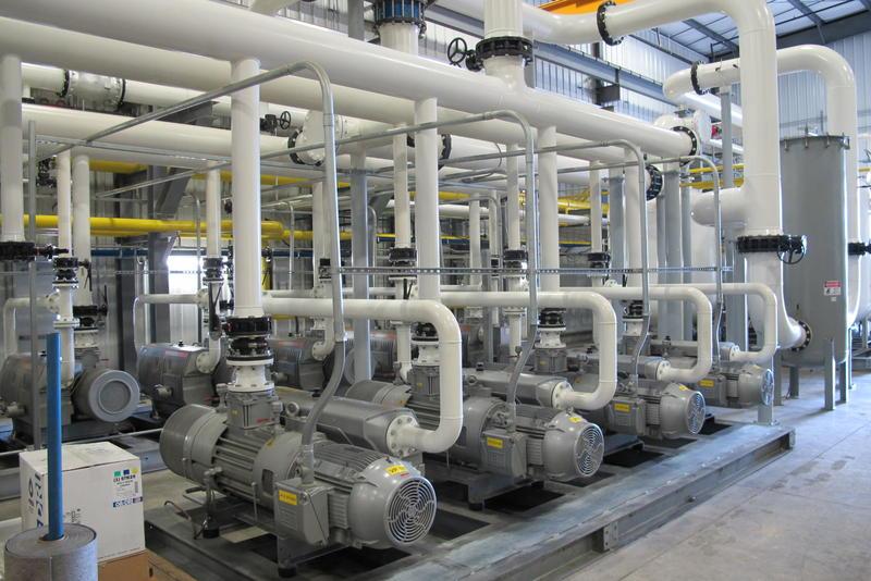 Part of Aria Energy's methane gas production facility near Grove City