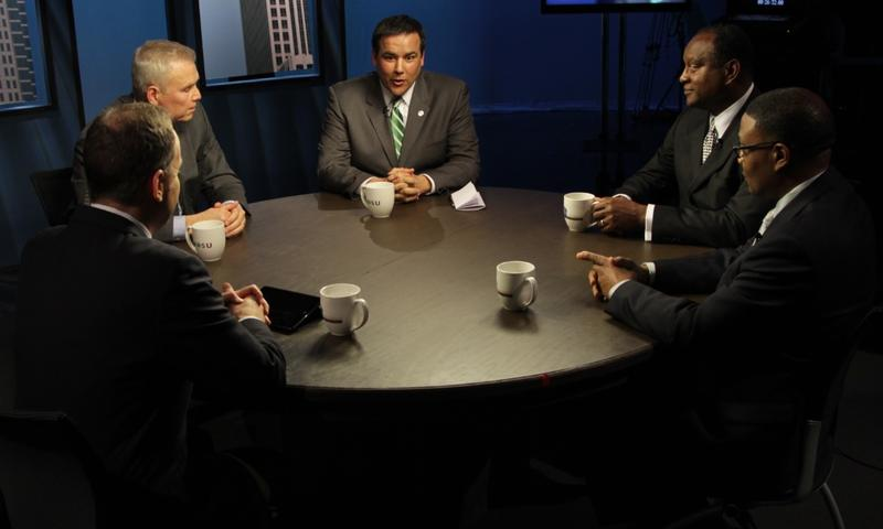 Columbus Mayoral candidates debate issues on WOSU TV's Columbus on the Record.