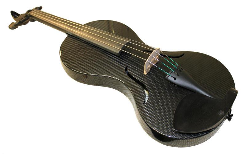 Mezzo-forte's carbon fiber violin