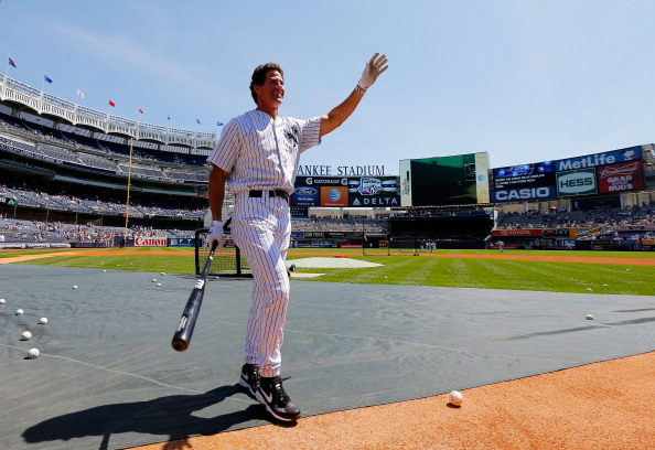 Brookhaven alumnus Paul O'Neill is pictured at Yankee Stadium