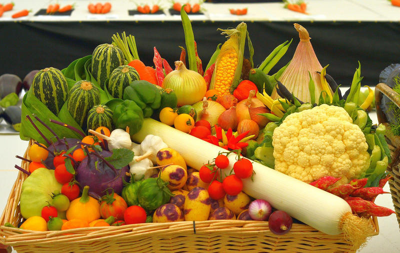 vegetables, produce