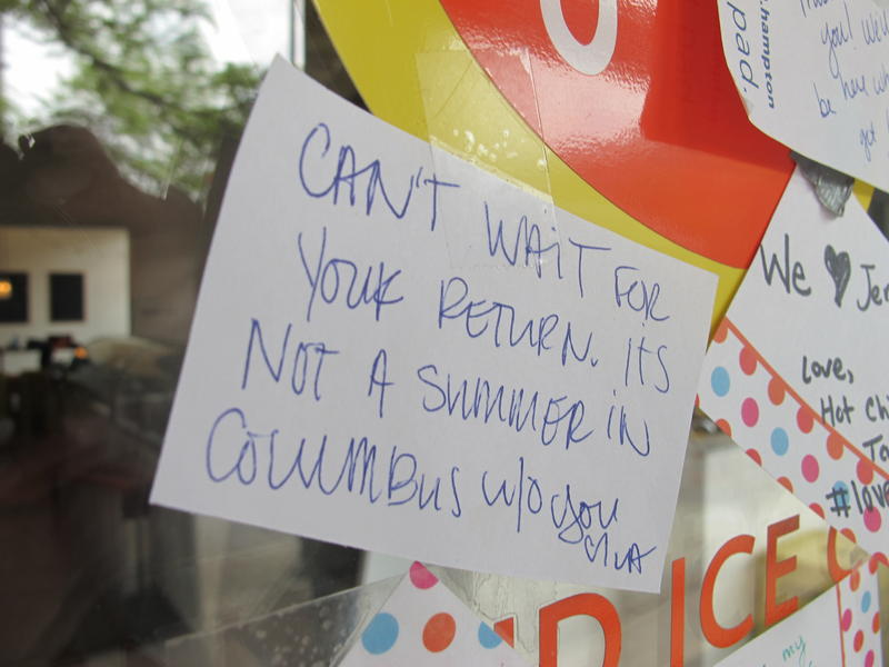 """Can't wait for your return. It's not a summer in Columbus without you."""