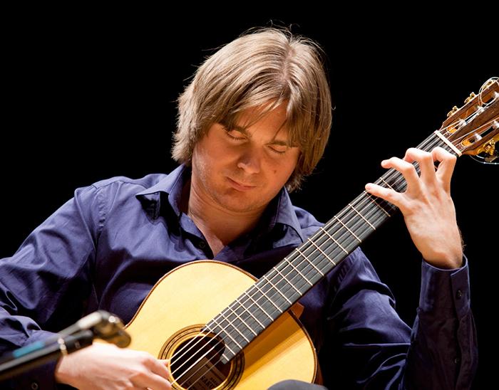 Guitartist Anton Baranov