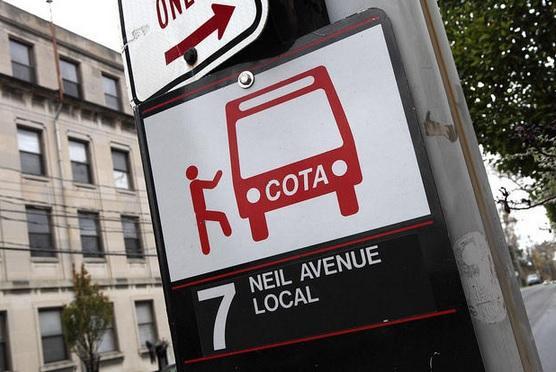 COTA sign