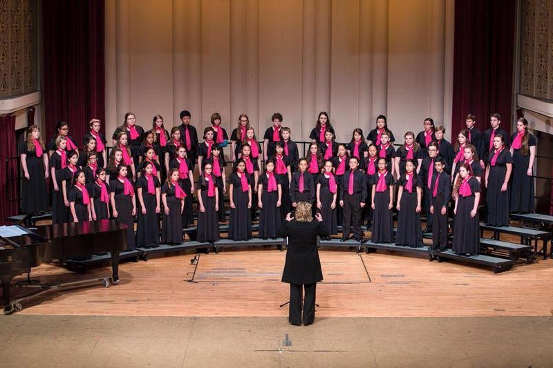 Columbus International Children's Choir in concert.