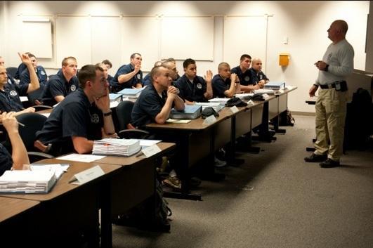 File photo of police training.
