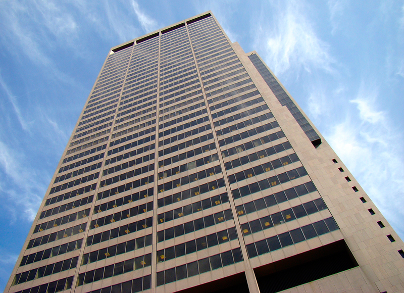 Rhodes State Office Tower in downtown Columbus