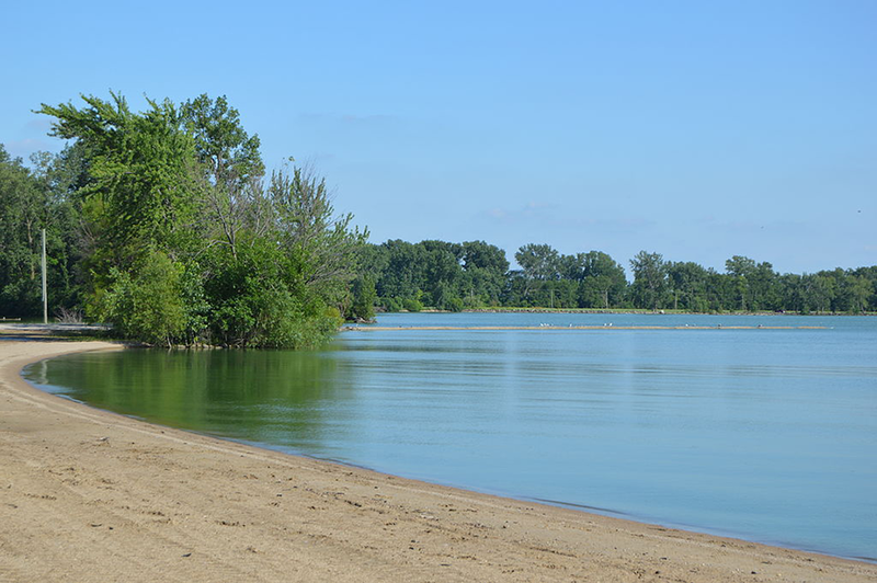 Grand Lake St. Marys beach