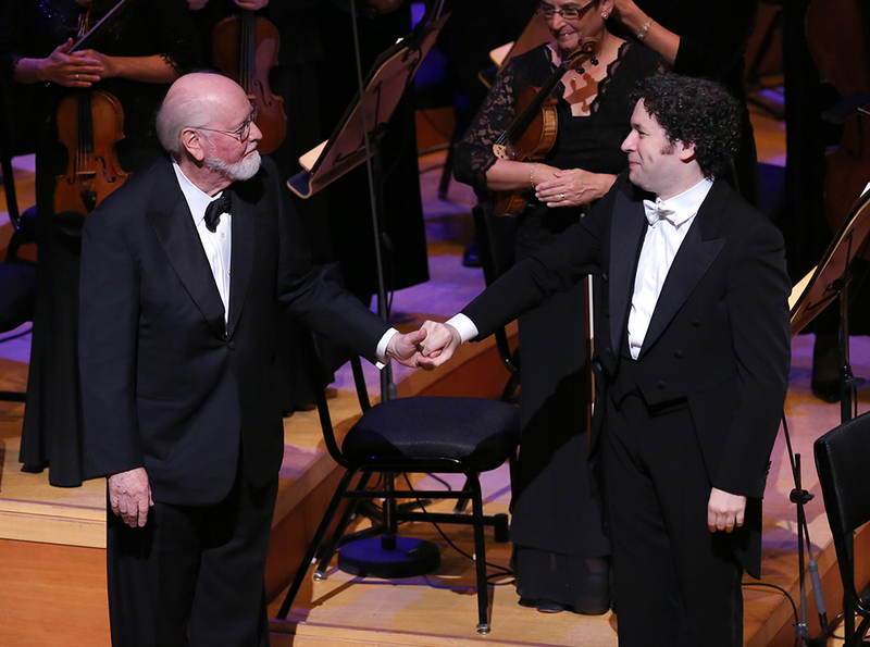 John Williams and Gustavo Dudamel