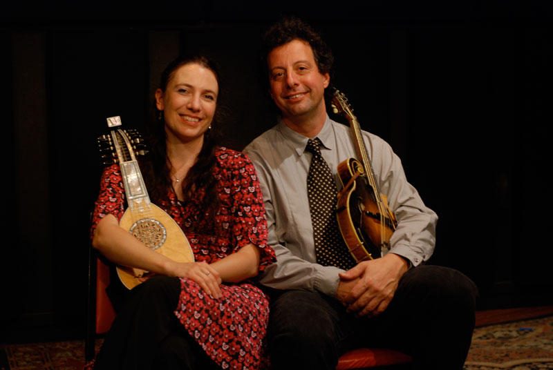 Caterina Lichtenberg and Mike Marshall