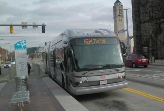 Cleveland RTA bus