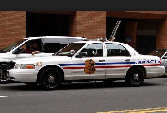Columbus Police Cruiser