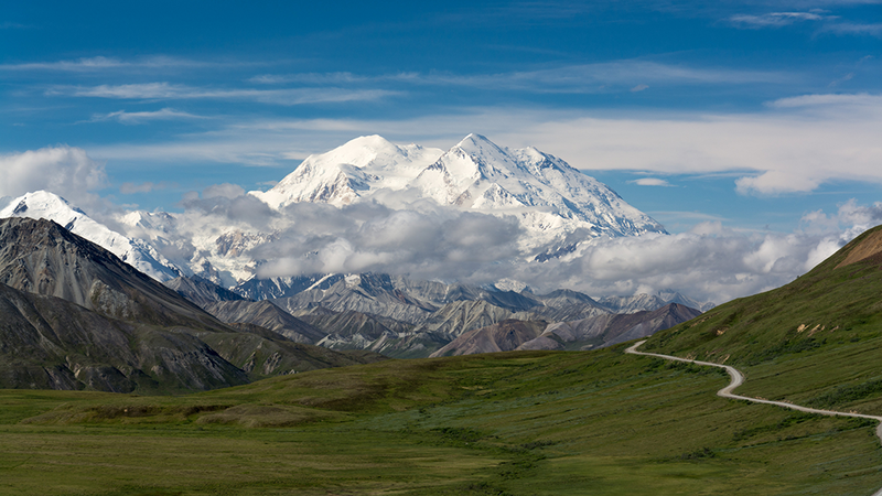 ormer Mount McKinley in Denali National Park