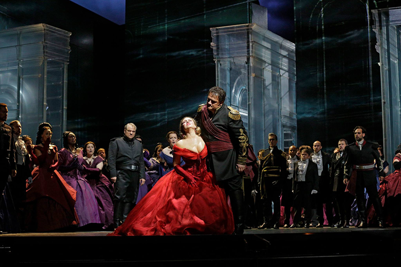 Otello performance at The Metropolitan Opera.