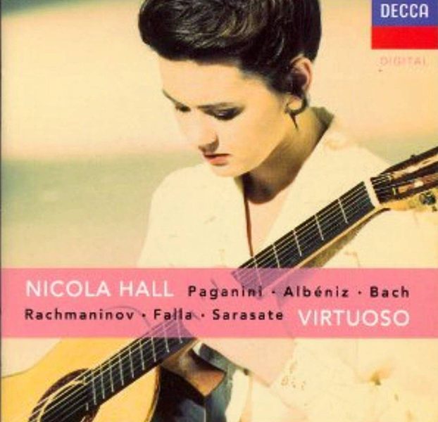 Nicola Hall's Virtuoso album cover