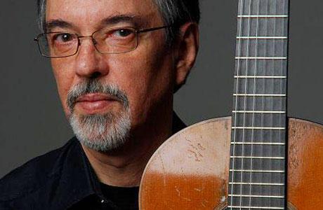 Eduardo Fernandez with guitar