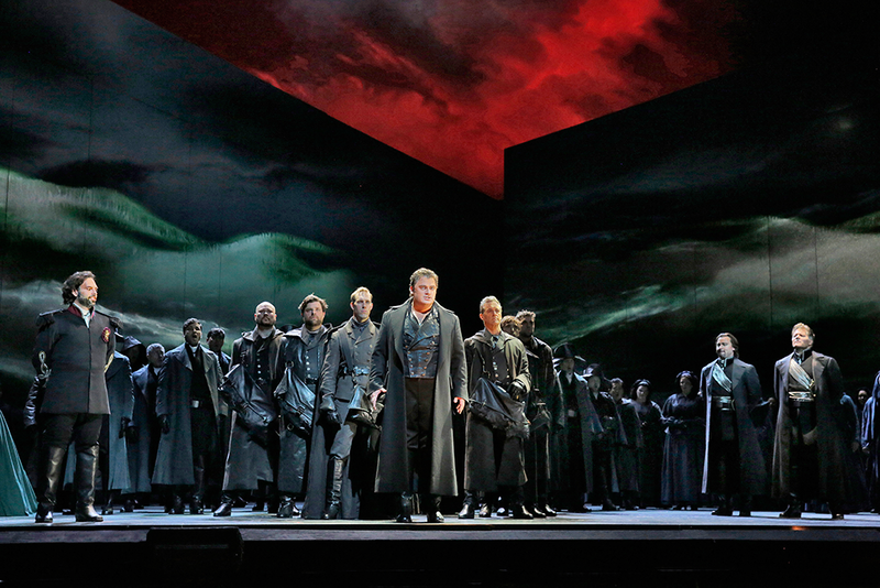 "A scene from Verdi's ""Otello."""