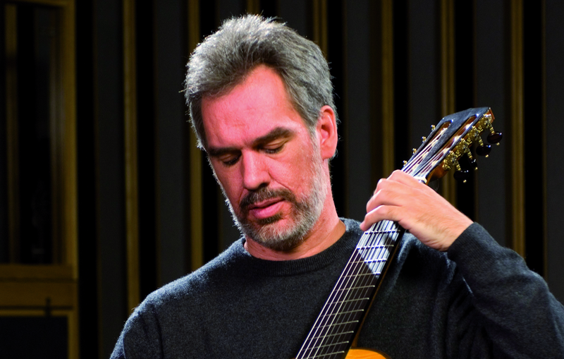 Paul Galbraith plays an 8-String Guitar