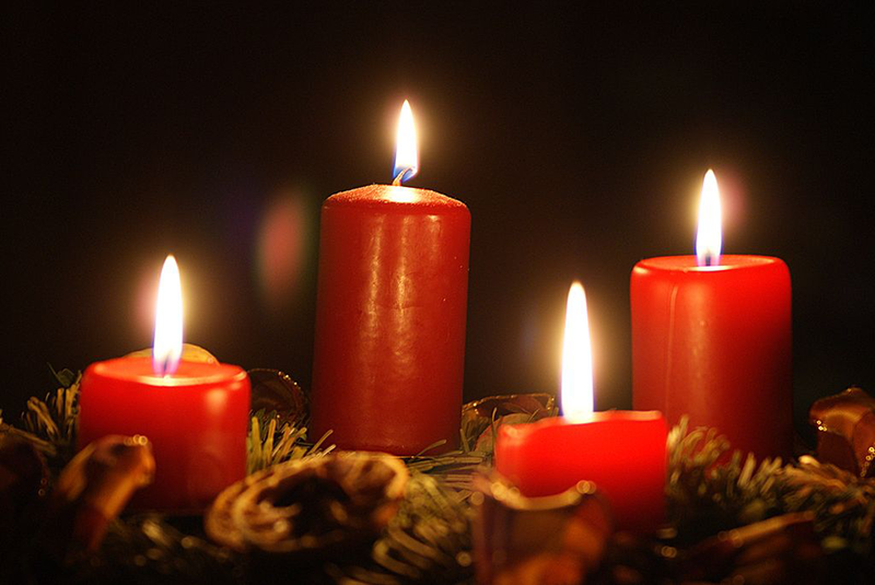 Advent candles