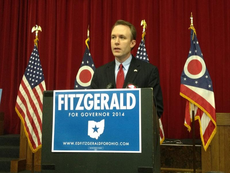 Ed FitzGerald speaks during his 2014 campaign for Ohio Governor