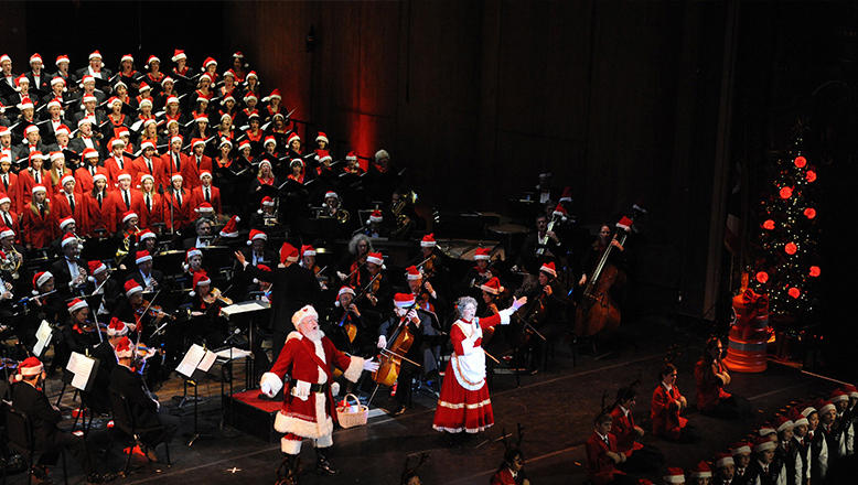 Columbus Symphony Orchestra Holiday Pops Concert with Santa Claus and Mrs. Claus