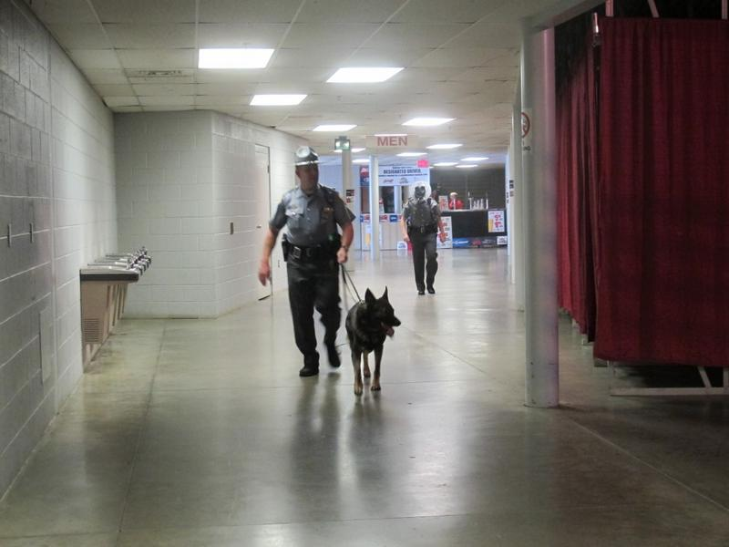 The Ohio Highway Patrol will train its own K-9's.