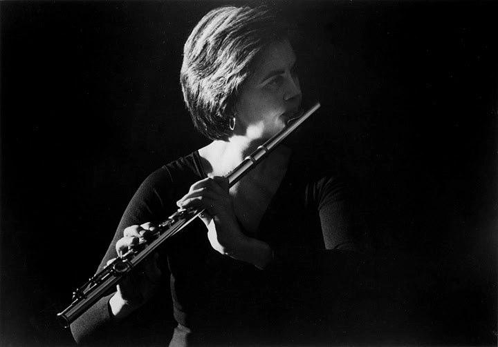 Flutist, composer, conductor, and poet Katherine Hoover.