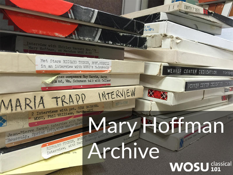 The Mary Hoffman Archives give the listener a peek at the past through the lense of music interviews. Its radio history at its best.