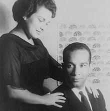 Henry Lewis with Marilyn Horne in 1961.