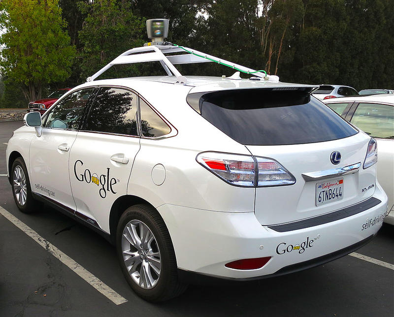 A self-driving car from Google