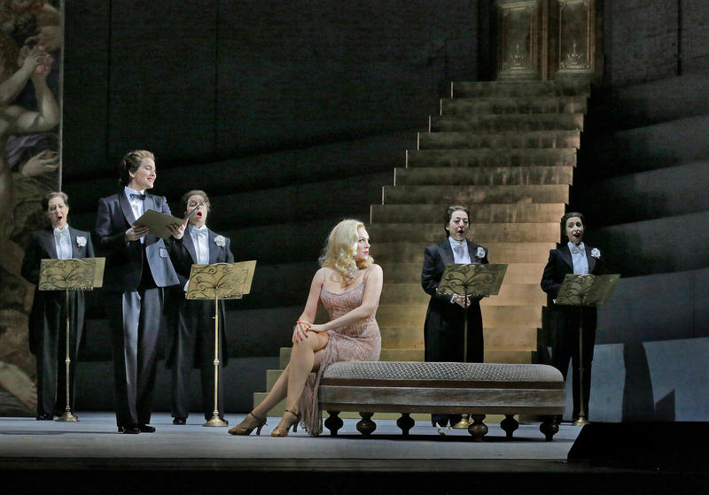 The siren of song, Manon Lescaut, sung by soprano Kristine Opolais, takes the big screen this Saturday.
