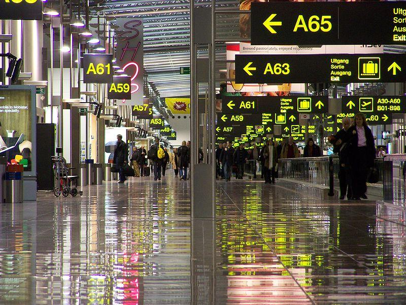 The Zaventem International Airport in Brussels where a deadly terrorist attack took place on March 22, 2016.