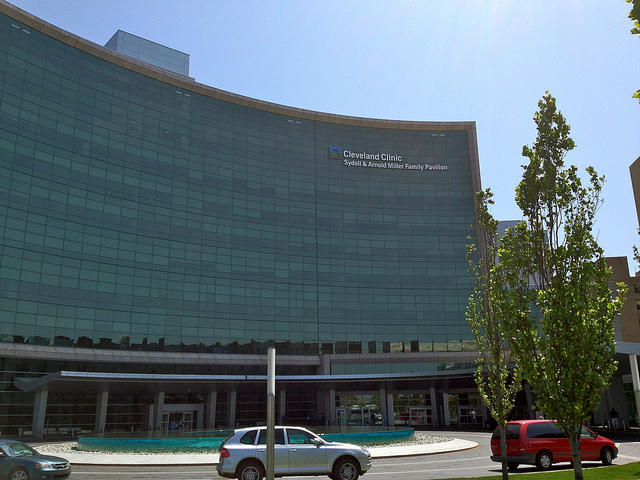 The Cleveland Clinic's Miller Pavilion and Glickman Tower