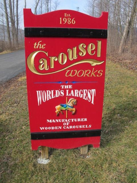 Mansfield's Carousel Works is the world's largest manufacturer of wooden carousels.