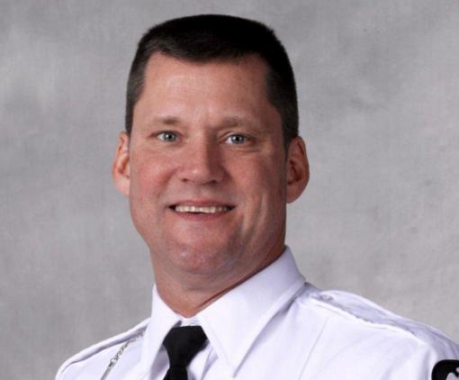 Columbus Police Officer Steve Smith