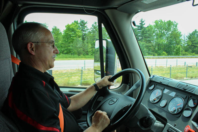 Gary Smith has driven a commercial truck for the last decade and says he's encountered potential victims of human trafficking on more than one occasion.