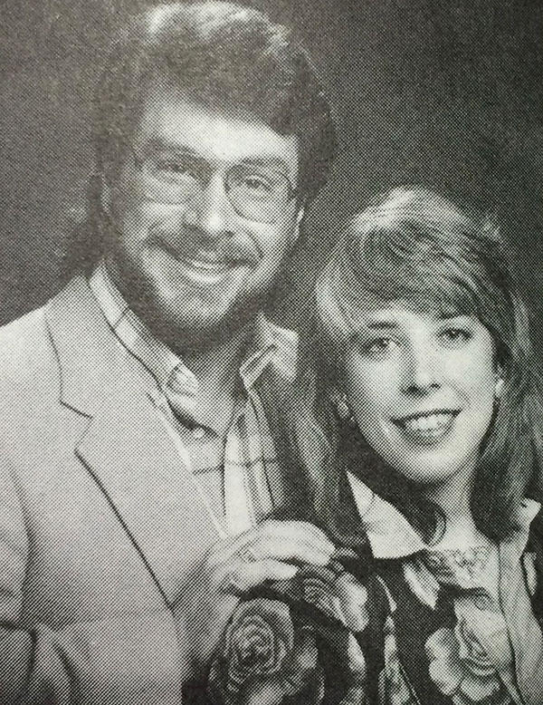 Berverley Ervine and Boyce Lancaster in 1986