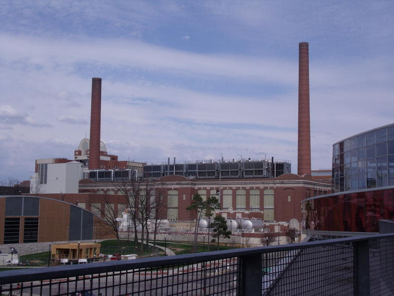 McCracken Power Plant provides steam power to buildings on OSU's Columbus campus.