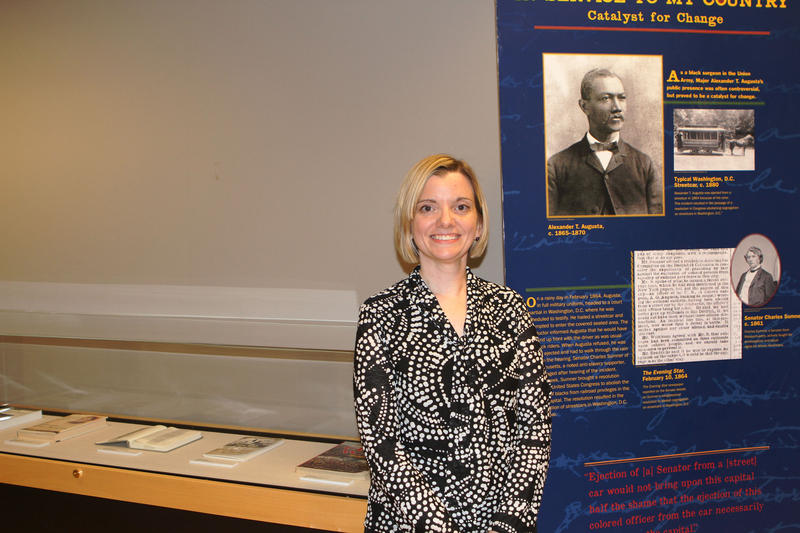 Exhibition Booth Assistant : Exhibit uncovers stories of african american physicians