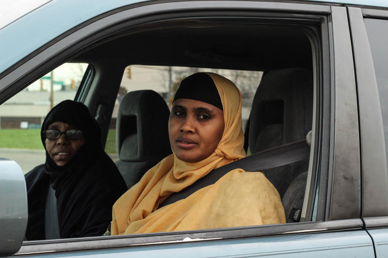 Sahra Ali and Lul Warsome will spend election day driving Somali community members to the polls.