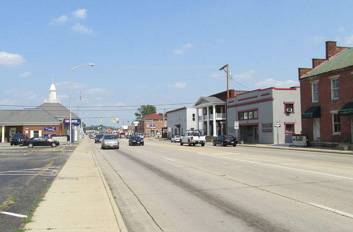 Emmitt Avenue in Waverly, Ohio.