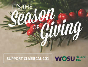 Donate this Thursday, December 8th, for your chance to take home a holiday gift CD, gift-wrapped for you or a loved one.