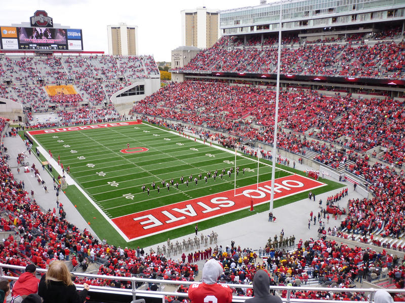 Fans inside The Horseshoe bought more than $1 million worth of beer during OSU's seven home games this season.